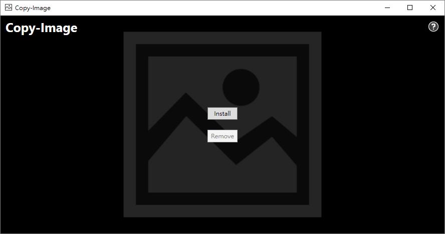 Copy-Image 右鍵直接複製圖片