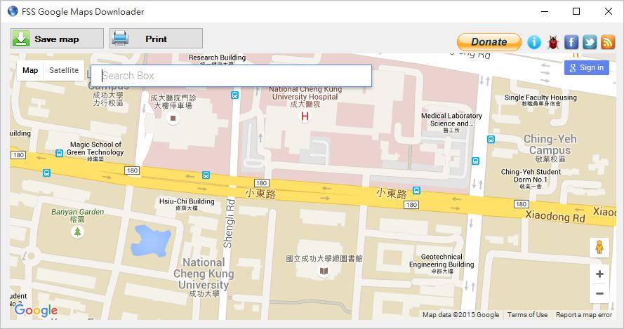 google map圖釘