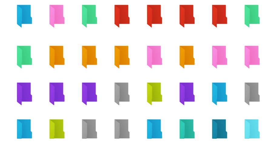 資料夾變色工具