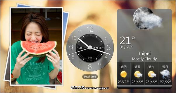 HTC Home Apis - 豐富你的桌面!時鐘、天氣、圖片、社群最新動態