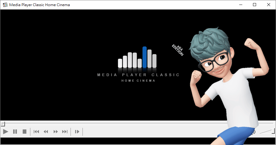 MPC-Homecinema 1.9.8 進階版的 Media Player Classic