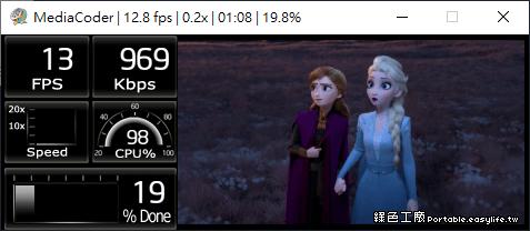MediaCoder 免費萬用影音轉檔工具