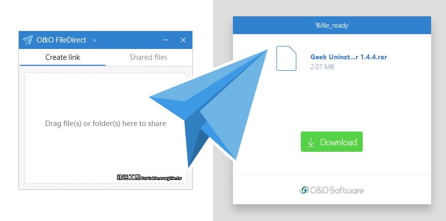 O&O FileDirect 免費雲端檔案上傳,免註冊帳號輕鬆分享檔案