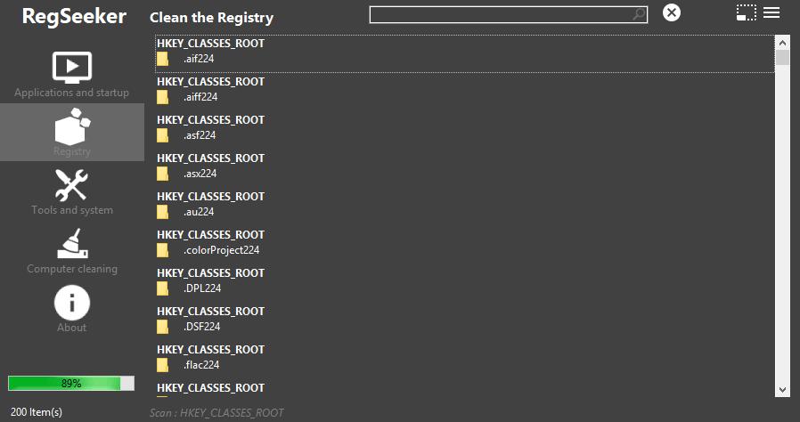 RegSeeker 4.7 系統登錄檔修改與優化工具,最推薦實用小功能