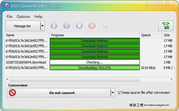 VSO Downloader 5.11.70 線上影音隨看隨下載,方便的影音下載工具!