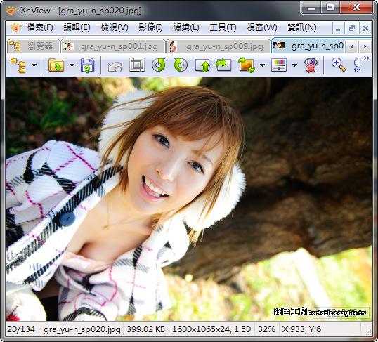 XnView 2.49.4 免費的看圖軟體、影像轉檔專家