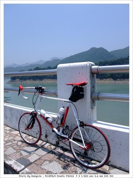 單車石門水庫環湖