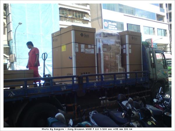 SL3000下貨車