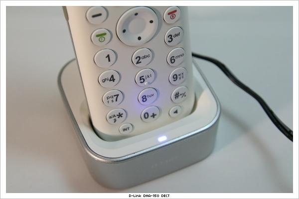 DHA-150 話機底座電源燈號