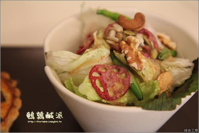 鵪鶉鹹派。台南美味的早午餐