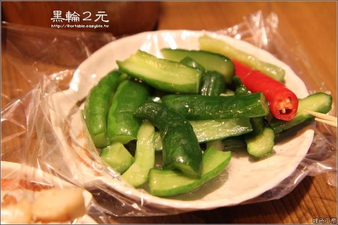 黑輪2元。台南美食