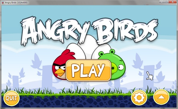 Angry Birds PC版!iPhone與Android系統上超熱門遊戲!