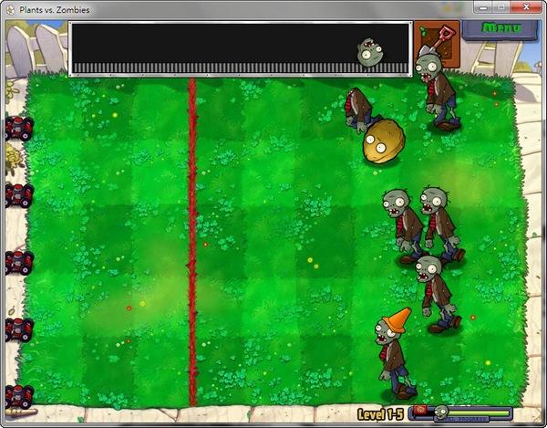 植物大戰殭屍。Plants vs Zombies