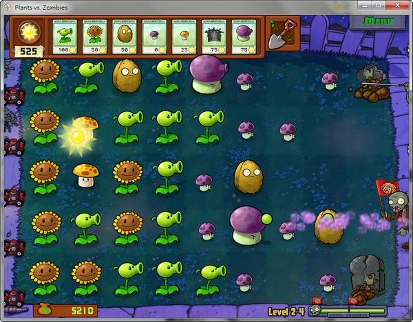 P植物大戰殭屍。Plants vs Zombies