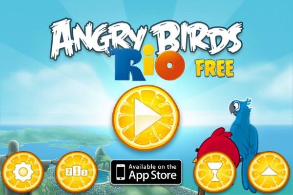 Angry Bird Rio。生氣鳥二代