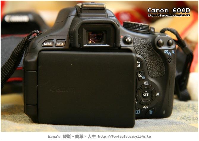 Canon 600D開箱。600D與550D比較