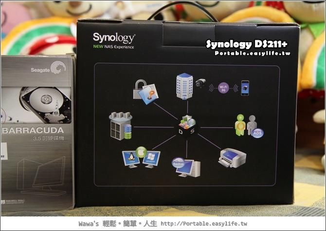 Synology DS211+ 網路儲存伺服器