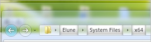 Elune。Windows 7 佈景主題