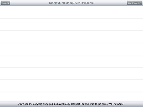 DisplayLink。讓iPad成為第二個電腦螢幕
