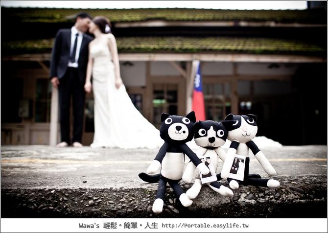 哇哇與吠吠的CH婚紗照。CH Wedding
