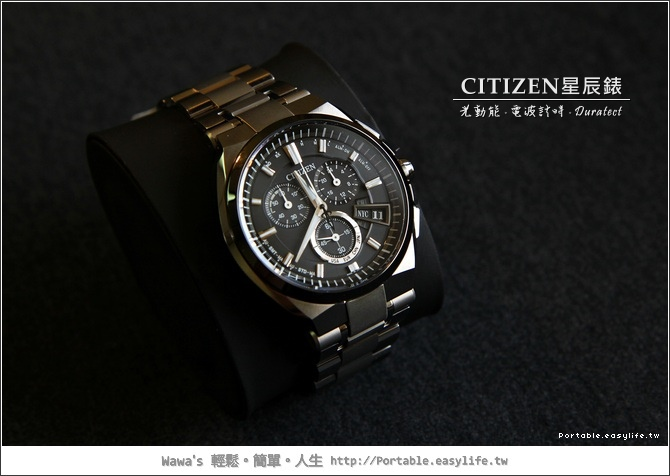 CITIZEN BY0074-50E - 光動能。電波時計。Duratect