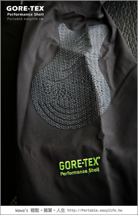 GORE-TEX® PERFORMANCE SHELL