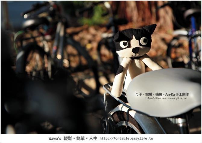 An-Ka手工製作。家裡的三隻貓娃娃