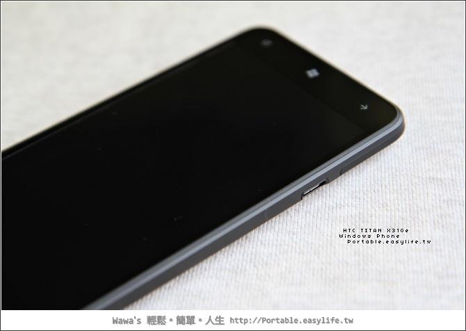 HTC TITAN X310e。Windows Phone