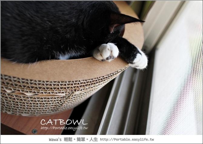 CATBOWL。紙箱瓦楞紙貓碗!