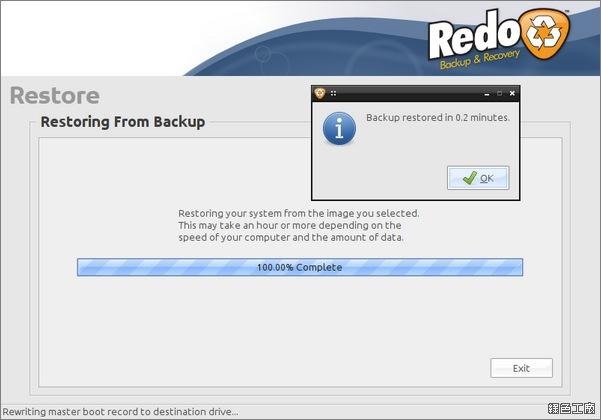 Redo Backup。免費硬碟複製、磁碟拷貝開機光碟