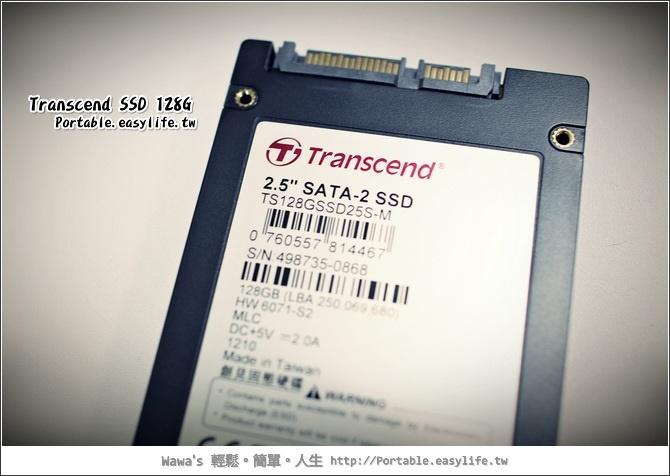 創見SSD 128G SATA2