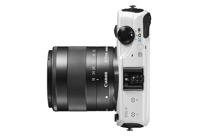 Canon EOS M。Canon微單眼
