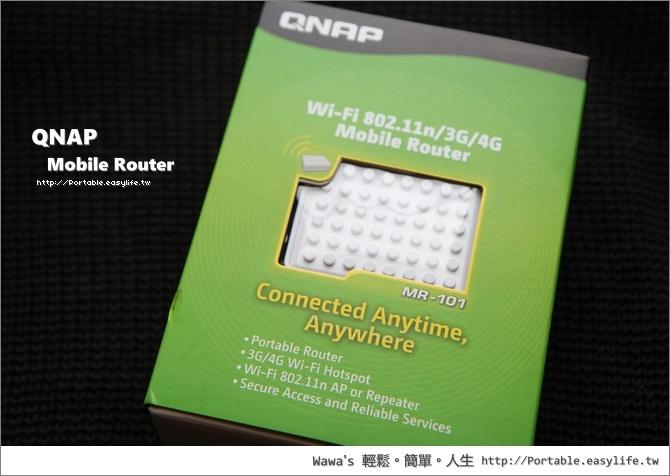 QNAP 3G Router。旅遊型無線分享器。AXIMCom MR-101N