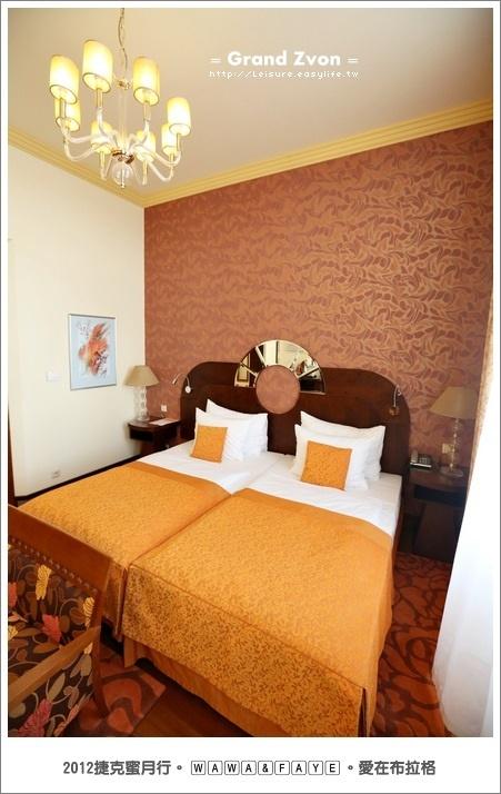 巴德傑維契 GRAND ZVON HOTEL。捷克蜜月