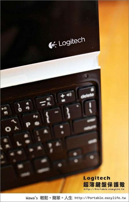 羅技超薄鍵盤保護殼ipad2 new ipad