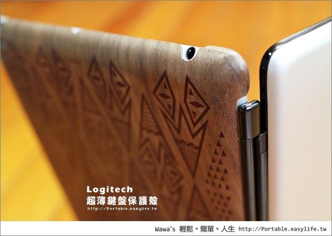 羅技iPad2超薄鍵盤保護殼。Logitech Ultarthin Ketboard Cover