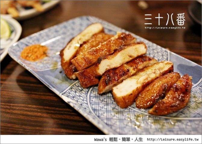 三十八番。台南宵夜、串燒、燒烤、美食