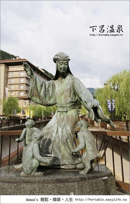 下呂溫泉。昇龍道。日本中部旅遊