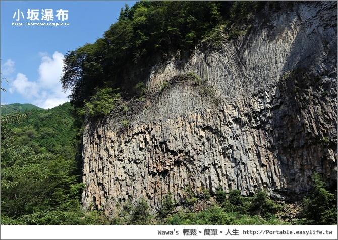 小坂瀑布。昇龍道。日本中部旅遊