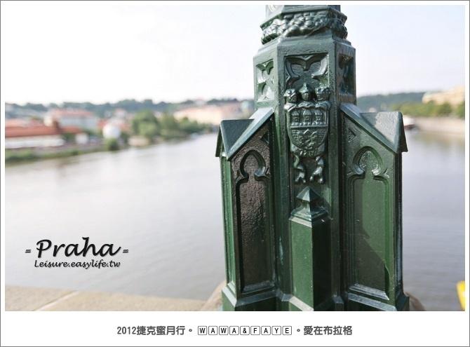 布拉格查理橋、查理大橋。捷克蜜月、捷克旅遊