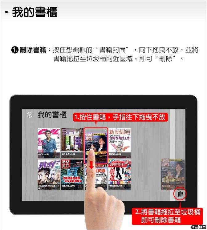 Win8應用程式MagV,在電腦看免費雜誌
