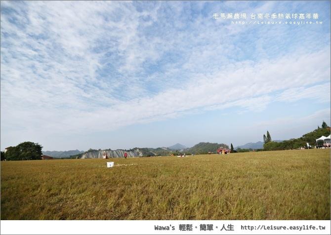 台南熱氣球嘉年華。走馬瀨熱氣球