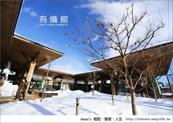 有備館+森民酒造店+花山太右衛門。日本東北旅遊