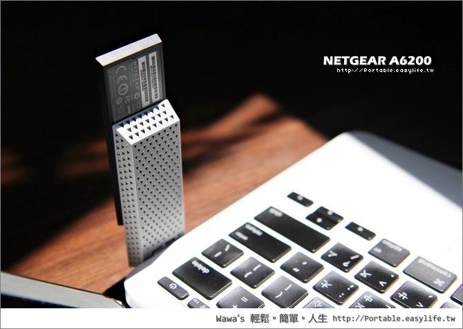 NETGEAR A6200 802.11ac 無線網路卡