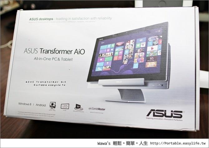 ASUS Transformer AiO 變形金剛,Android 平板 + Windows 8 桌機