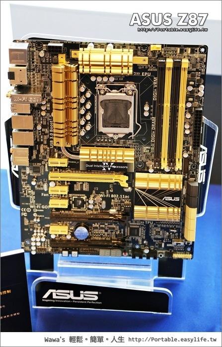 ASUS玩家聚會,Z87系列主機板&第四代雙智能處理器