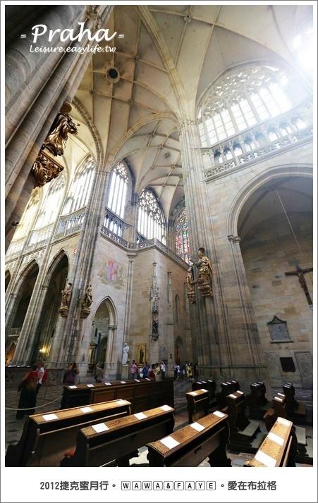 布拉格城堡區、聖維塔大教堂、黃金小巷。捷克旅遊、布拉格蜜月