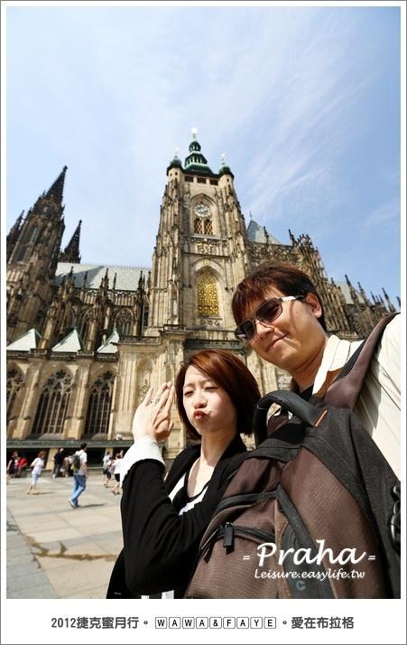 【布拉格】城堡區趴趴走,華麗的聖維塔大教堂!
