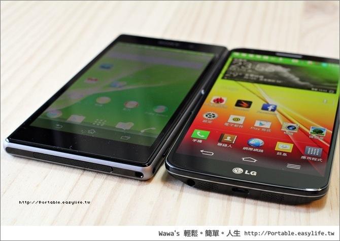 SONY Xperia Z1、LG G2 相機評測比較