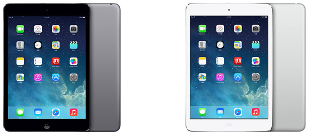 iPad Air、iPad Mini with Retina